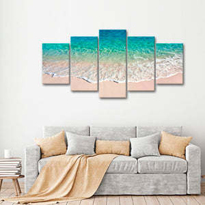 Oceanholic Multi Panel Canvas Wall Art - Beach