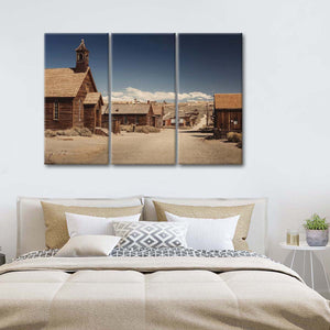 Old Town Multi Panel Canvas Wall Art - Western