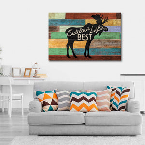 Outdoor Life Canvas Wall Art - Inspiration