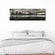 Overcast Manhattan Skyline Multi Panel Canvas Wall Art