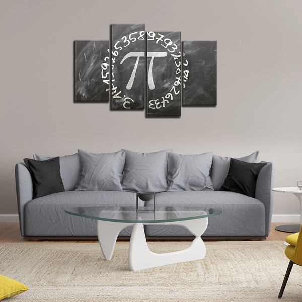 Pi Multi Panel Canvas Wall Art