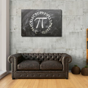 Pi Multi Panel Canvas Wall Art - Pai