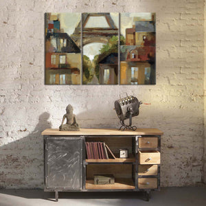 Paris - Late Summer I Multi Panel Canvas Wall Art - Paris