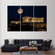 Parthenon of Athens Multi Panel Canvas Wall Art