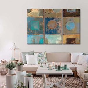 Pass Way III Multi Panel Canvas Wall Art - Abstract