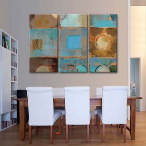 Pass Way II Multi Panel Canvas Wall Art - Abstract