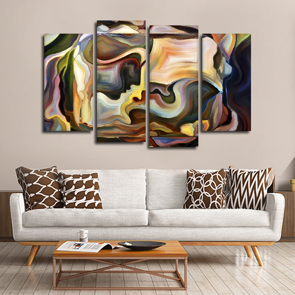 Passionate Moment Multi Panel Canvas Wall Art