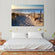Path to the Sea Multi Panel Canvas Wall Art