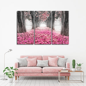 Peaceful Passage Pop Multi Panel Canvas Wall Art - Nature