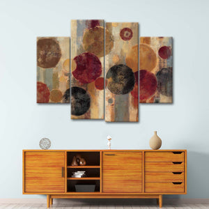 Pendulum Multi Panel Canvas Wall Art - Abstract