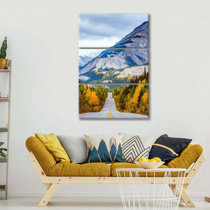 Powerful Granite Rockies Multi Panel Canvas Wall Art - Nature