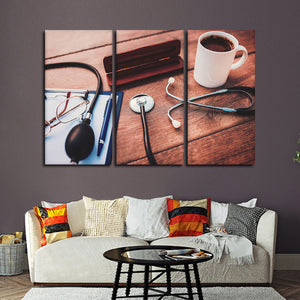 Private Practice Multi Panel Canvas Wall Art - Medical