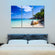 Punta Cana Multi Panel Canvas Wall Art