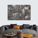 Puzzle Metal Wall Multi Panel Canvas Wall Art