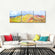 Rainbow Mountain Panoramic Multi Panel Canvas Wall Art