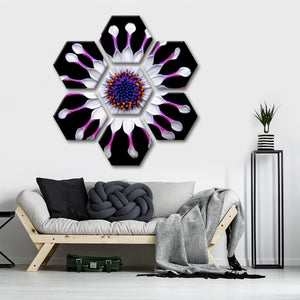 Rare Flower Multi Panel Canvas Wall Art - Flower