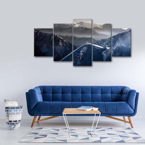 Ready To Descend Multi Panel Canvas Wall Art - Extreme