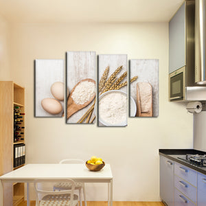 Ready To Bake Multi Panel Canvas Wall Art - Kitchen