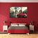 Red Car Multi Panel Canvas Wall Art
