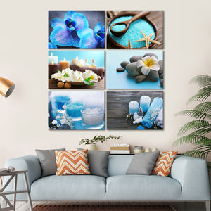 Relax and Unwind Canvas Set Wall Art - Spa