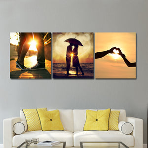 Romantic Weekend Canvas Set Wall Art - Relationship