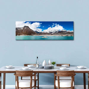 Sacred Himalaya Lake Multi Panel Canvas Wall Art - Nature