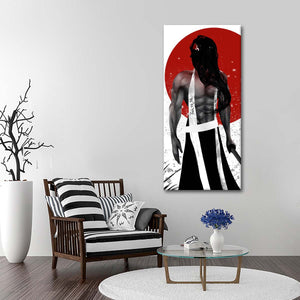 Samurai Assassin Multi Panel Canvas Wall Art - Japan
