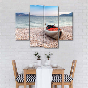 Sea Kayak Multi Panel Canvas Wall Art - Kayak