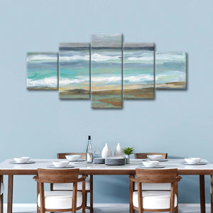 Seashore VIII Multi Panel Canvas Wall Art - Beach