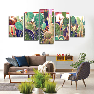 Secret Garden Multi Panel Canvas Wall Art - Botanical
