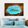 Secret Island Multi Panel Canvas Wall Art