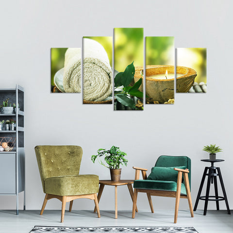 Serenity Multi Panel Canvas Wall Art