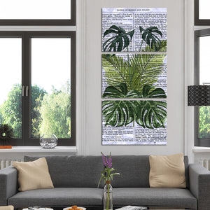 Shakespeare Greenery Multi Panel Canvas Wall Art - Botanical