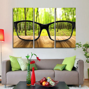 Sharp Vision Multi Panel Canvas Wall Art - Optometry