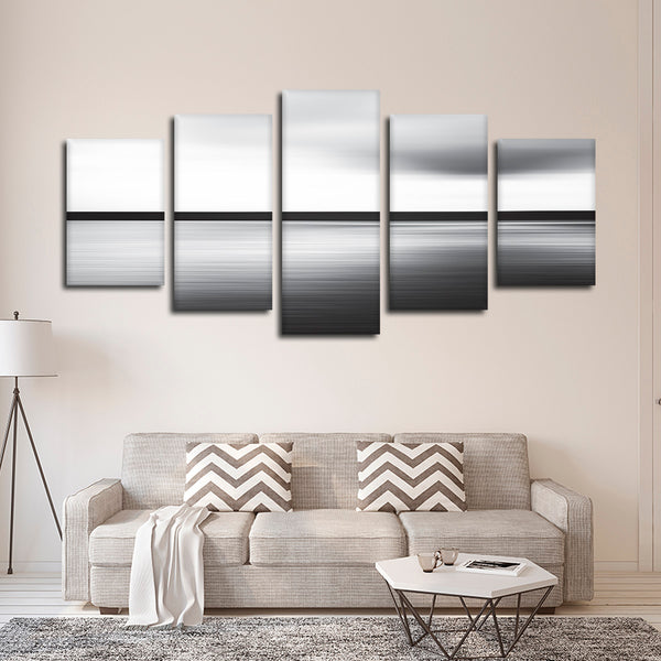 Abstract Horizon Multi Panel Canvas Wall Art