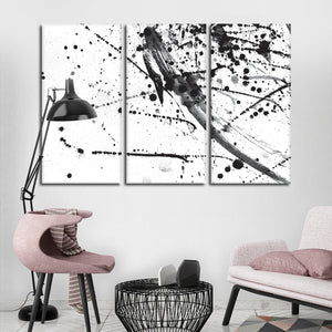 Expression Multi Panel Canvas Wall Art - Abstract