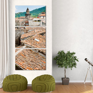 Sicilian Rooftop Multi Panel Canvas Wall Art - City
