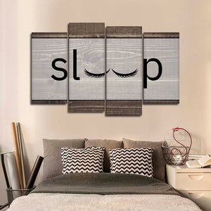 Sleep Multi Panel Canvas Wall Art - Inspiration