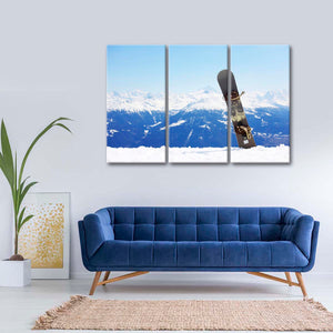 Snowboard Multi Panel Canvas Wall Art - Extreme