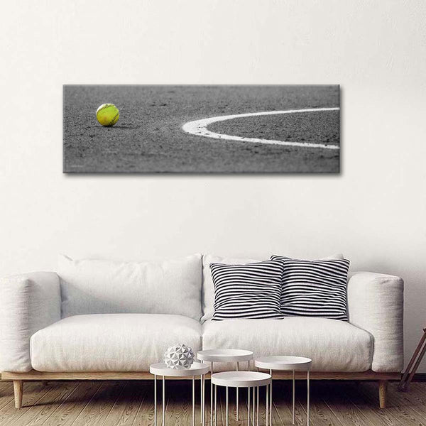 Softball Challenge Multi Panel Canvas Wall Art