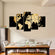 Soil World Map Multi Panel Canvas Wall Art