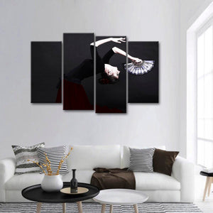 Spanish Flamenco Multi Panel Canvas Wall Art - Dance