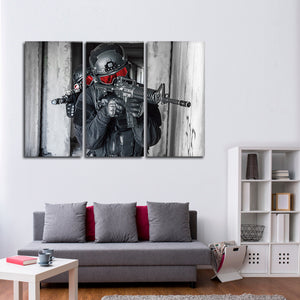 Special Ops Multi Panel Canvas Wall Art - Army