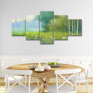 Spring Midst Multi Panel Canvas Wall Art - Nature