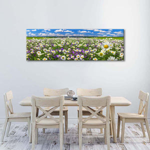 Spring in Full Bloom Multi Panel Canvas Wall Art - Flower