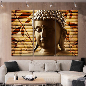 Step Into The Expanse Multi Panel Canvas Wall Art - Buddhism