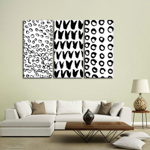 Bold Patterns Canvas Set Wall Art - Abstract