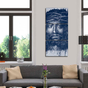 Jesus Graffiti Multi Panel Canvas Wall Art - Graffiti