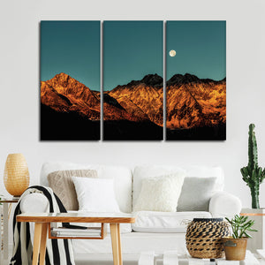 Stunning Canyon Multi Panel Canvas Wall Art - Nature