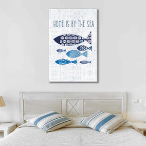 Sunday on the Coast V Multi Panel Canvas Wall Art - Beach